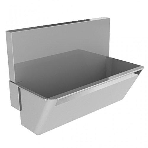 Simex chirurgico lavabo in acciaio inox spazzolato - disponibile in 3 misure, 740 x 1500 x 500 mm