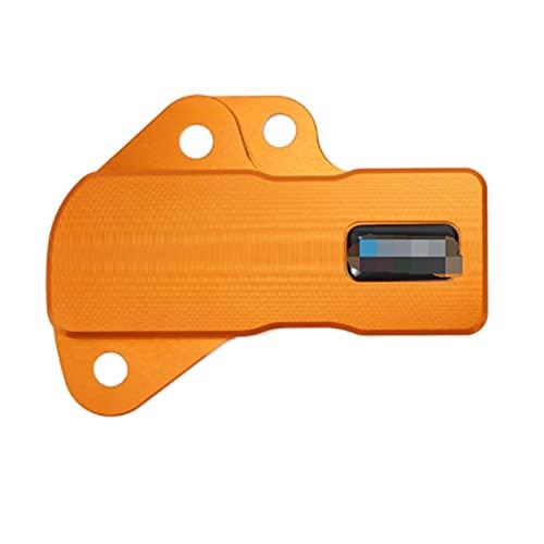 XHAJFNCO Little Rich Man TPS Sensor Guard Fit para Exc XCW TPI Sixdays 250 300 2018-2021 Exc XCW TPI 150 Husqvarna TE250I TE300I TX300I TE150I (Color : Orange)