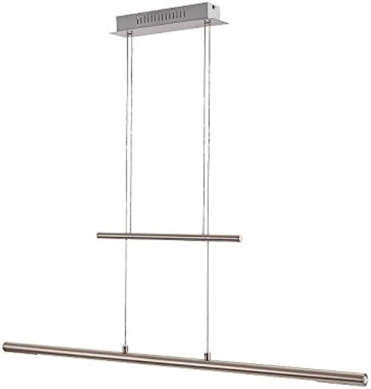 LED Pendellampe mit Touch Dimmer Hhenverstellbar für Esszimmer (Pendelleuchte, Wohnzimmer, Küche, Hngeleuchte, Hngelampe Esstisch, 24 Watt, Warmwei, EEK A)