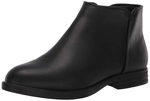 Amazon Essentials Kids' Fashion Ankle Boot, Black, 4 Youth US Little Kid