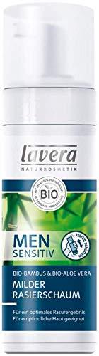 Lavera Men sensitiv milder Rasierschaum Bio-Bambus 3er Vorteilspack (3 x 150ml)