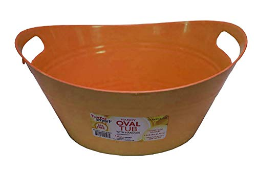 Smarthome plastic handly oval tub, Assorted