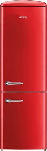 Gorenje ORK192RD Libera installazione 322L A++ Rosso frigorifero con congelatore