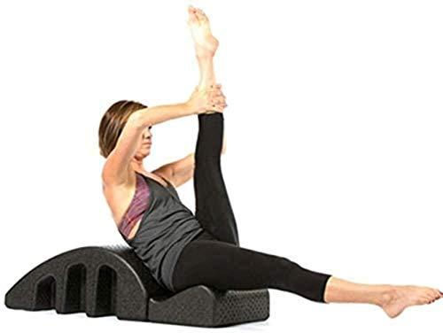 LIUYULONG Wirbelsäulenunterstützer Yoga Pilates Massage Bett Pilates Yoga Keilkorrektur Massageliege Wirbelsäule Ausrichtung Fitnessgerät Rücken Kurve
