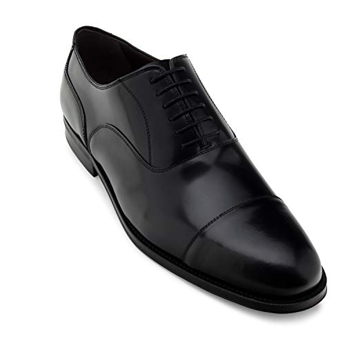 Andres Machado - 5969 - Zapatos Estilo Oxford en Serraje .Tallas Grandes Caballero de la 47 a la 50. Made in Spain.