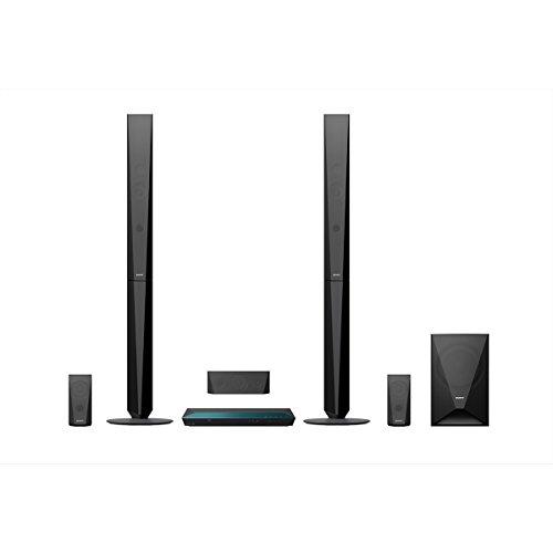 Sony BDV-E4100 Surround Blu-ray Heimkinosystem (5.1. Kanal Sound, Blu-ray Player, DVD Player, Bluetooth, 1000 Watt, 3D) schwarz