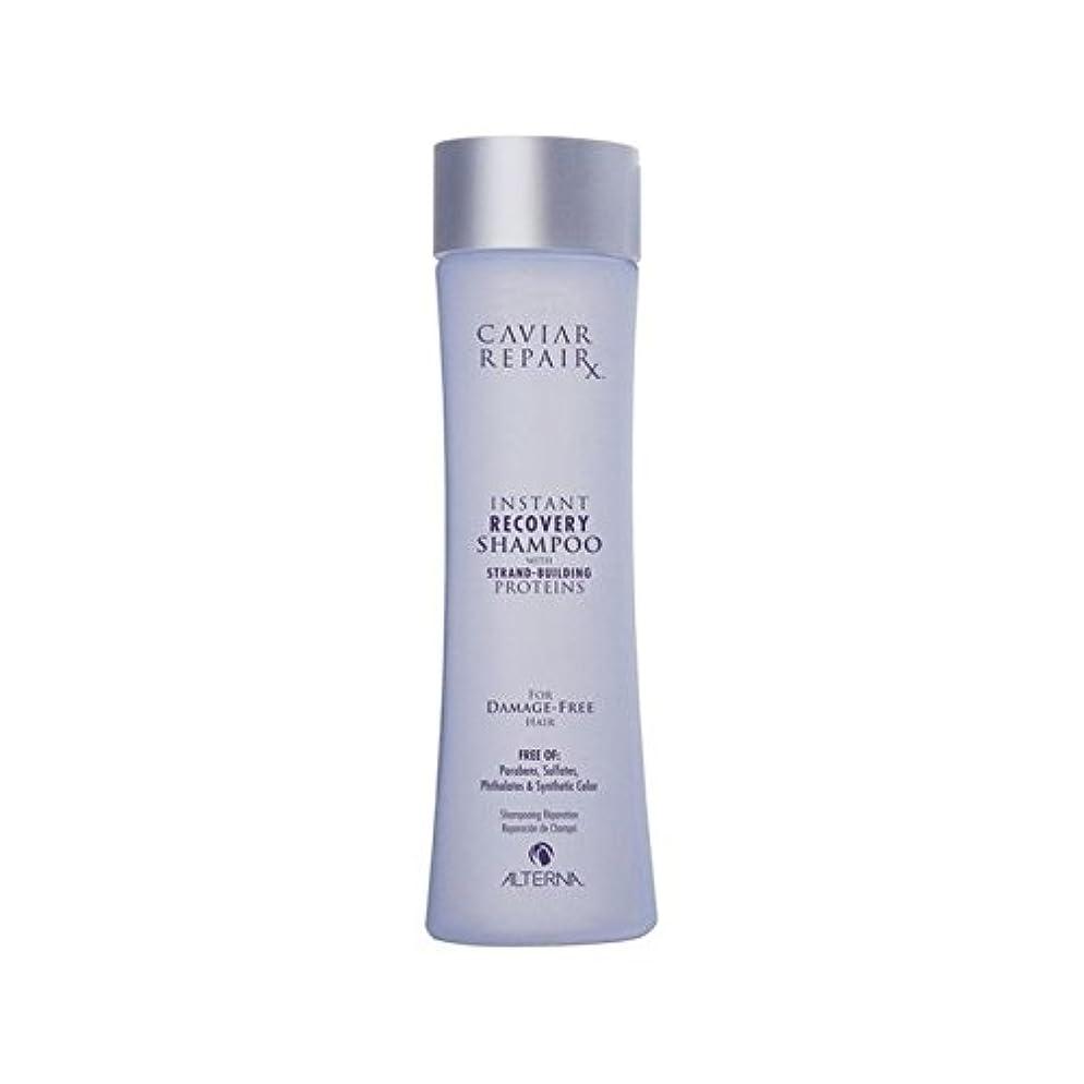 石灰岩収束効果オルタナキャビアインスタントリカバリシャンプー250 x4 - Alterna Caviar Repairx Instant Recovery Shampoo 250ml (Pack of 4) [並行輸入品]