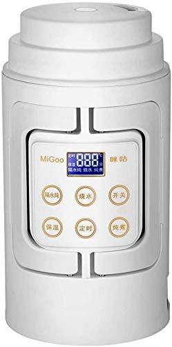 Reisen Wasserkocher Mini Milch/Reiskocher Multifunktionale Falten Reiskocher Kleine Kapazität Tragbare Elektrische Warmwasser-Tasse/Milchwärmer 110V / 700ml (Farbe: Weiß, Größe: 110V)