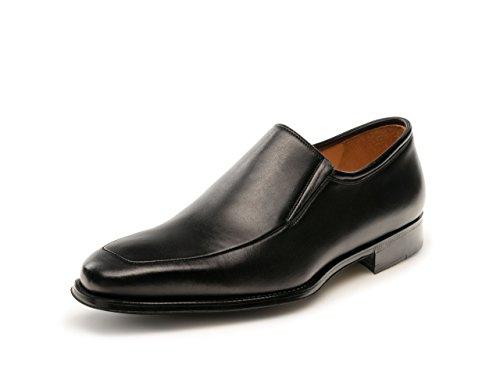 Magnanni Dominguez Black Men's Loafer Shoes Size 7 US