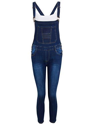 SS7 Mädchen Denim Latzhose Jeans