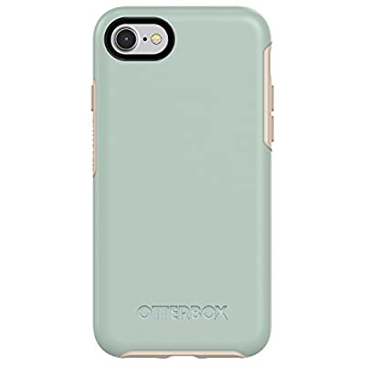OtterBox SYMMETRY SERIES Case for iPhone SE (2nd gen - 2020) and iPhone 8/7 (NOT PLUS) - Retail Packaging - MUTED WATERS (SURF SPRAY/SILVER LINING)