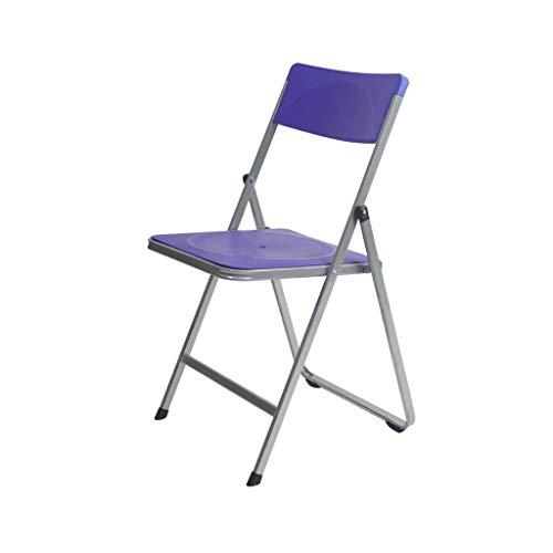QYYCzdy Opvouwbare bureaustoel Draagbare eetstoel Vergadering Receptie Relax Stoel