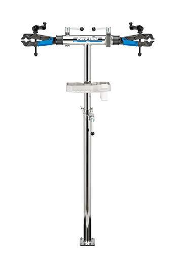 Park Tool Unisex-Erwachsene PRS-2.2–2–Deluxe Double Arm Reparatur Ständer mit weniger Basis-Werkzeug
