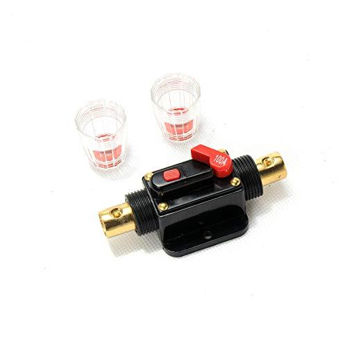 RED WOLF 100A 100Amp Sicherungshalter Leistungsschalter Leistungsschutzschalter Inline AGU KFZ Fuse für Auto Audio Video 12V 24V Circuit Breaker