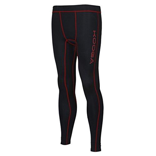 Kooga Thermal Power Pantalon Petit Noir/Rouge