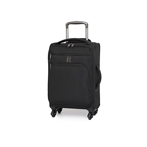 it luggage Megalite 21.9' Spinner with Expander, Black