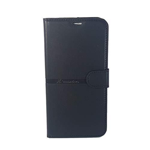 Capa Carteira LG K12 Plus (Tela de 5.7 - Cor Preta) Capinha Case Flip