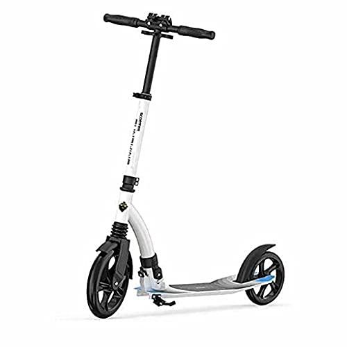 WZWHJ wunderschönen Roller Roller Stunt Scooter 230mm großes Rad 3 Einstellbarer Höhe Pendler-Roller, geeignet für Kinder, Jugendliche und Erwachsene