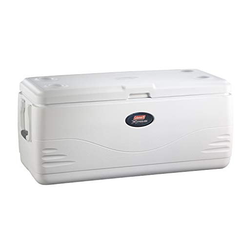 Coleman Coastal Xtreme Series Marine Portable Cooler, 100 Quart , White