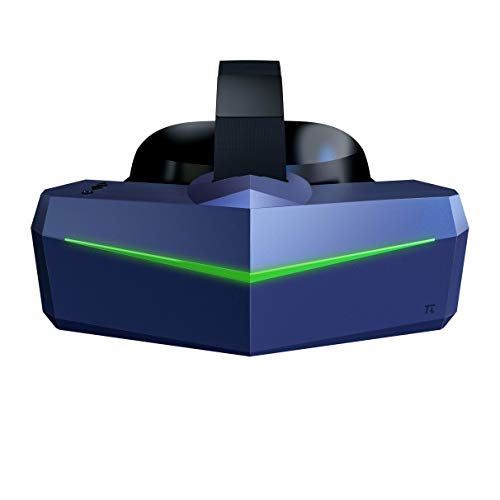 Pimax Vision 8K Plus VR Headset with 4K CLPL Displays, 200 Degrees FOV, Fast-Switched Gaming RGB Pixel Matrix Panels for PC VR Steam Games Videos, USB-Powered