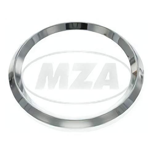 Bague chromée pour tachymètre et compte-tours ETZ, TS, ETS - Diamètre : 80 mm.
