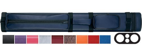 Action 2/2 Oval Hard Pool Cue Case Color: Black