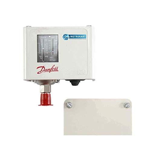Elektronischer manueller Niedrigstrom-Luftdruckschaltersensor für Kessel, Automobile, Klimaanlagen, Pumpen, Dampfturbinen von Danfoss Modell: KP5 manuell (Bereich: 8 bis 32 bar)
