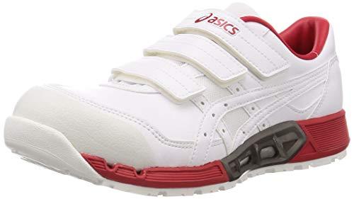 [アシックス] ワーキング 安全靴/作業靴 ウィンジョブ CP305 AC JSAA A種先芯 耐滑ソール fuzeGEL搭載 メンズ ホワイト/ホワイト 26.5 cm