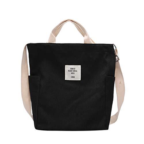 Huaya Damen Mode Einfach Single Schulter Bote Taschen Segeltuch Tasche Tote