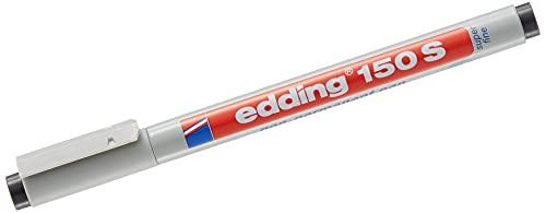 Edding 150S Non-Permanent OHP Marker Pen–0.3mm–Black