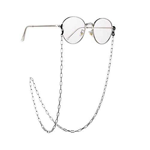 YLQGS Glasses Chain for Women Thick Chain for Glasses Lanyard Hip Hop Glasses Strap Sunglasses Cords Casual Trend Accessories (Color : B, Size : Length-70CM)