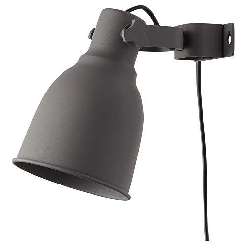 IKEA 502.165.40 Hektar - Foco de pared, color gris oscuro