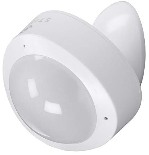 Monoprice 133050 Wireless Smart PIR Motion Sensor and Vibration Sensor - White | No Hub Required – From STITCH Smart Home Collection