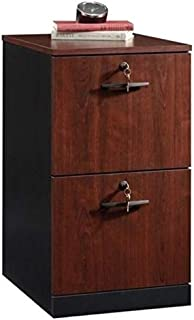 Bowery Hill 2 Drawer File Cabinet in Classic Cherry