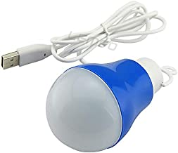 USB LED Light Bulb 5W Camping Tent Emergency Led Light Bulb Powered By Power Bank Computer Laptop