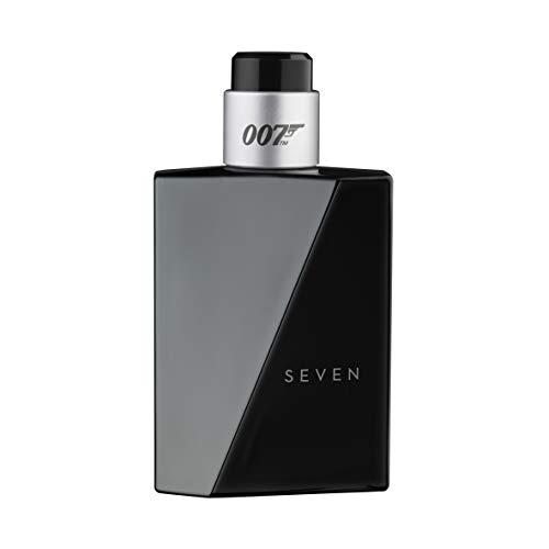 James Bond 007 Seven for Men – Eau de Toilette Herren Natural Spray – Fruchtig-würziges Herren Parfüm für den gewagten und eleganten Auftritt – 1er Pack (1 x 50ml)