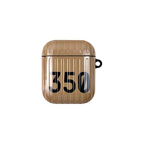 onder shoebox 350 koffer airpods pro case creatieve camouflage bluetooth draadloze headset cover 1/2/3 generatie soft shell, airpods1/2, Kleur1