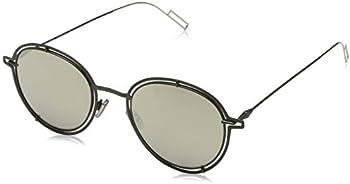 Dior Beige Mirror Round Sunglasses