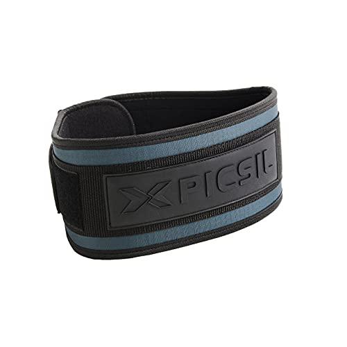PicSil Cinturón Lumbar para Levantamiento de Pesas, Soporte Lumbar, Ideal para...