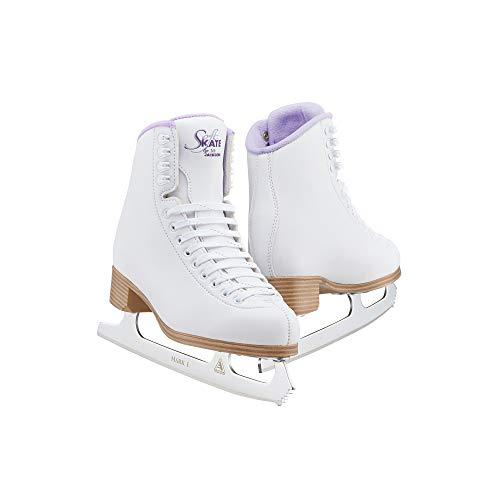 Jackson Classic Purple SoftSkate 380 Eiskunstlaufschuhe für Damen/Mädchen – Mädchen Größe 33,0