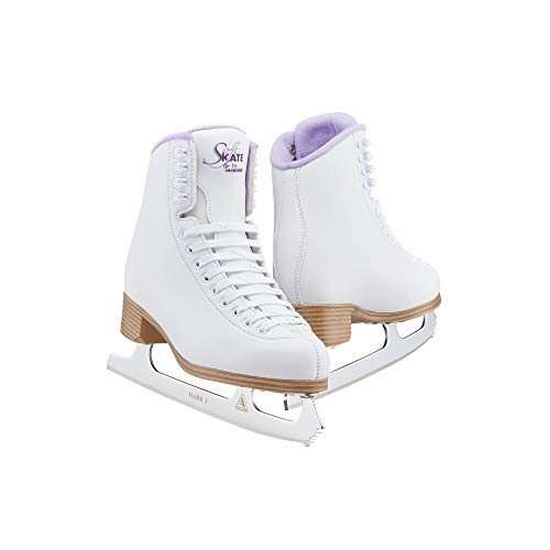 Jackson Classic Purple SoftSkate 380 Womens/Girls Ice Figure Skates/JUST LAUNCHED NOV 2020 - Girls Size-3.0