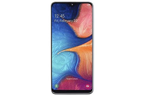 Samsung Galaxy A20e Smartphone (14.7 cm (5.8 pollici) 32 GB di memoria interna, 3 GB RAM, Dual SIM, White) - versione tedesca.