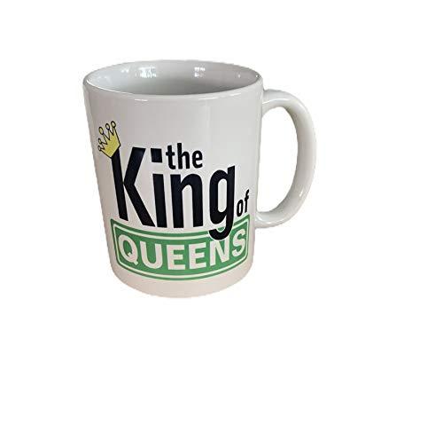 MADE Offizielle King of Queens Fan Tasse Kaffeebecher mit IPS Accessoires