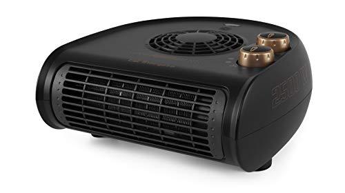 Orbegozo FH 5035 Calefactor eléctrico con termostato Regulable, 2500W de Potencia, 2 Posiciones de Calor y función Ventilador, Negro