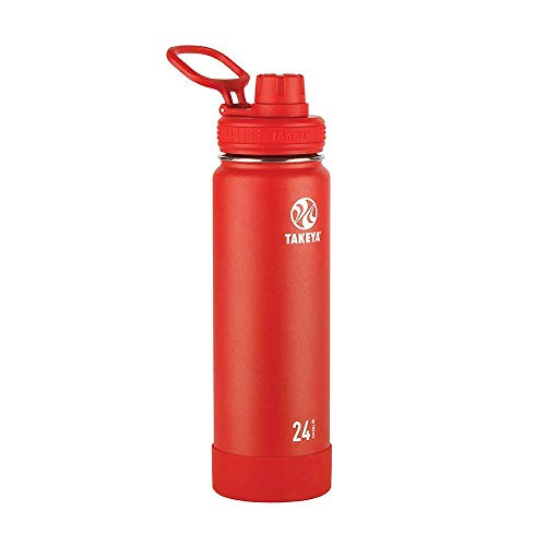 Takeya Actives Bouteille d'hydratation isotherme en acier...