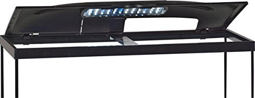MarineLand LED Aquarium Hood - 30 x 12 inch, black (32995)