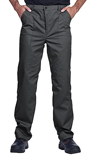Pantaloni da Lavoro da Uomo, Pantaloni da Lavoro Modello Classico, Pantaloni Cargo, Abiti da Lavoro, Made in EU, Colori Diversi, 50