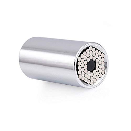 FZJDX 2 Unids Torque Llave Llave Set Universal Socket Funda Adaptador 7-19mm Taladro de alimentación Taladro de trinquete Spanner Llave Llave Herramientas Multi Manual