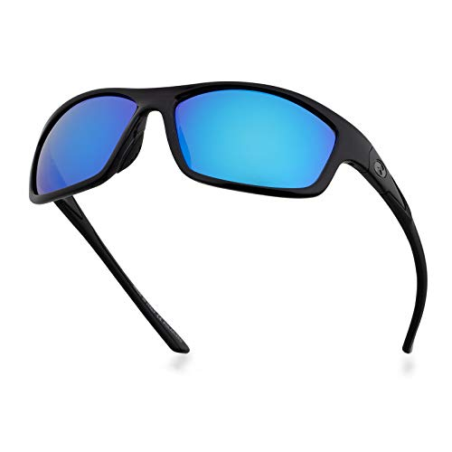 Bnus polarized sunglasses for men women shades w/corning glass lens...