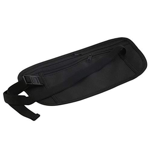 Unisex Compact Cash Reisepass Ticket Zipper Bag Sicherheitsgurt pocketss Mit Elastischen Verstellbaren Riemen Sicherheit Hüftgurt Tasche